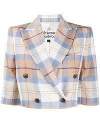 Vivienne Westwood チェック ジャケット - マルチカラー