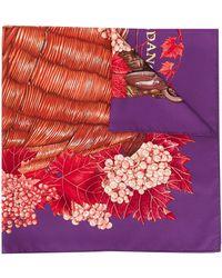 Hermès - Платок Vendages 1990-х Годов Pre-owned - Lyst