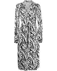 Diane von Furstenberg - タイガー シャツドレス - Lyst