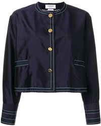 Thom Browne - Unconstructed Silk Dressing Jacket - Lyst