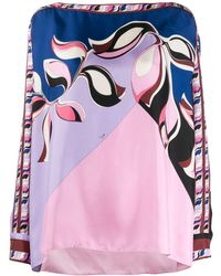 Emilio Pucci - Heliconia プリント ブラウス - Lyst