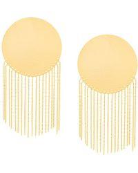 Paula Mendoza Cubeo Earrings - Metallic