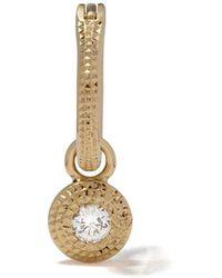 De Beers タリスマン ホワイトダイヤモンド ピアス 18kイエローゴールド - メタリック