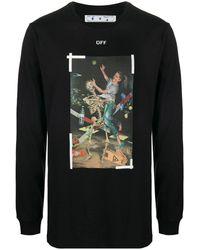 Off-White c/o Virgil Abloh Pascal Painting T-shirt - Black