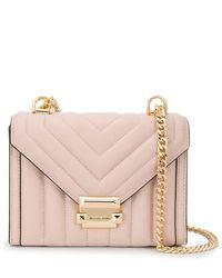MICHAEL Michael Kors Whitney Quilted Shoulder Bag - Pink