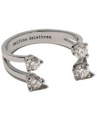 Delfina Delettrez Diamanten Ring - Metallic