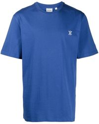Daily Paper Eshield Logo Print T-shirt - Blue