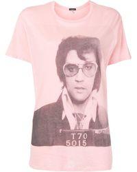 R13 - Elvis Tシャツ - Lyst