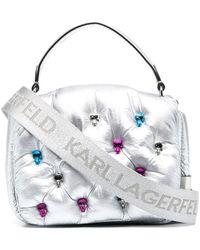 Karl Lagerfeld Дутая Сумка-тоут K/ikonik 3d - Многоцветный