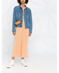 AMI Tシャツワンピース - ブルー