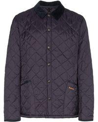 Barbour Heritage Liddesdale キルティングジャケット - ブルー