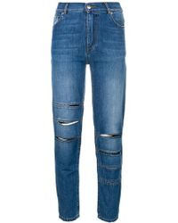 Each x Other - Slim High-waisted Jeans - Lyst