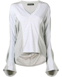 Y. Project Oversized Flared-sleeve T-shirt - マルチカラー