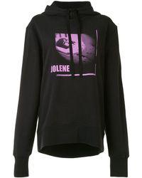 Ann Demeulemeester Jolene Cut-out Hoodie - Black
