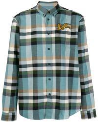 KENZO チェックシャツ - マルチカラー