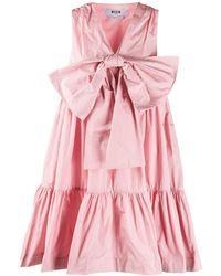 MSGM - リボン ドレス - Lyst