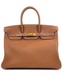 Hermès Сумка Birkin Pre-owned - Коричневый