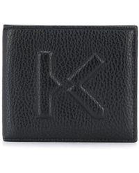 KENZO Portemonnaie mit Logo-Prägung - Schwarz