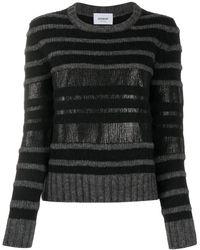 Dondup ストライプ セーター - グレー