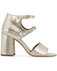 Laurence Dacade Randal Block-heel Sandals - Metallic