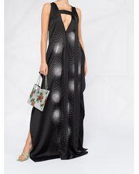 Stella McCartney Charlie イブニングドレス - ブラック