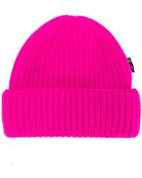 PS by Paul Smith - Ribbed Knit Beanie Hat - Lyst