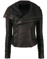75109568998 On sale Rick Owens - Forever Biker Jacket - Lyst