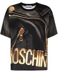 Moschino プリント Tシャツ - ブラック