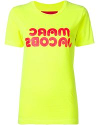 Marc Jacobs ロゴプリント Tシャツ - イエロー