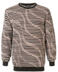 Giorgio Armani - Stripe Knitted Jumper - Lyst