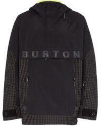 Burton Frostner Hooded Jacket - Black