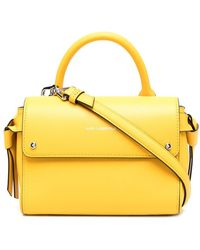 Karl Lagerfeld Маленькая Сумка-тоут K/ikon - Желтый