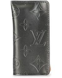 Louis Vuitton 2002 プレオウンド クロシェット Pm キーケース - ブラック