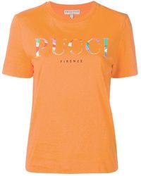 Emilio Pucci ロゴ Tシャツ - オレンジ