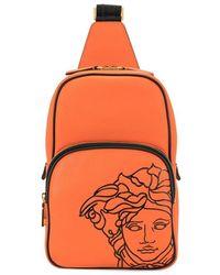 Versace Pop メデューサ バックパック - オレンジ