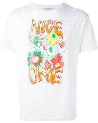 Stella McCartney - 'nice One' Printed T-shirt - Lyst