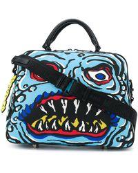 Moschino Monster ハンドバッグ - ブラック