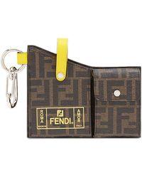 Fendi - モノグラム ポケット キーホルダー - Lyst