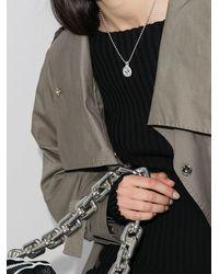 Gucci Колье С Подвеской GG - Металлик