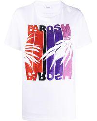 P.A.R.O.S.H. - ラインストーン Tシャツ - Lyst