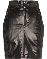 Isabel Marant Silk Mini Skirt - Zwart