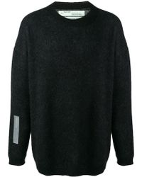 Off-White c/o Virgil Abloh Arrows Print Sweater - Black