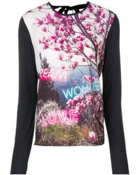 PS by Paul Smith - Printed Longsleeved T-shirt - Lyst
