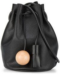Building Block - Bucket Bag With Sphere Tassel - Lyst