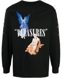 BBCICECREAM Pleasures Tシャツ - ブラック