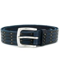 Orciani - Woven Buckled Belt - Lyst