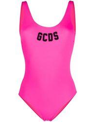 Gcds Lifeguard ロゴ 水着 - ピンク