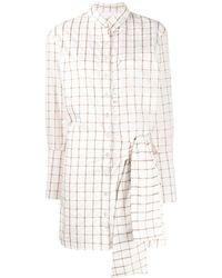 Chloé グリッドノット ドレス - ホワイト