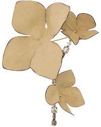 Marni Broche à design de fleur - Multicolore