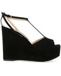 Sergio Rossi | Wedged Sandals | Lyst